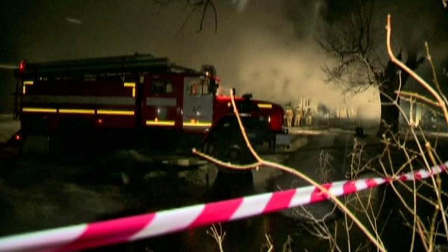Video Nejméně 23 mrtvých při požáru na ruské klinice