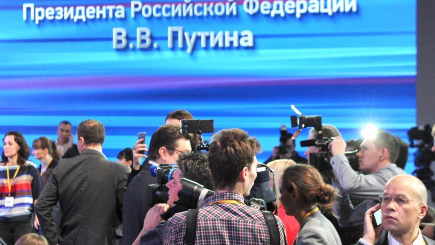 Video ŽIVĚ: Ruský prezident odpovídá novinářům