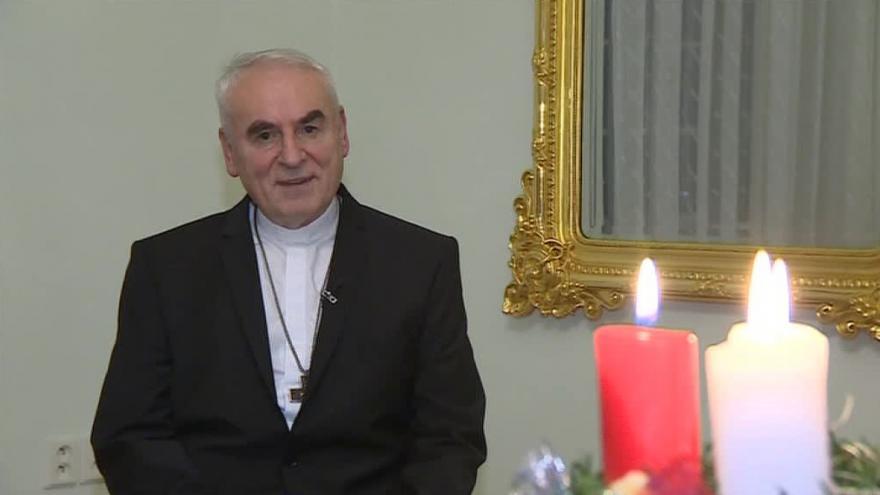 Video Vánoční poselství brněnského biskupa Vojtěcha Cikrleho