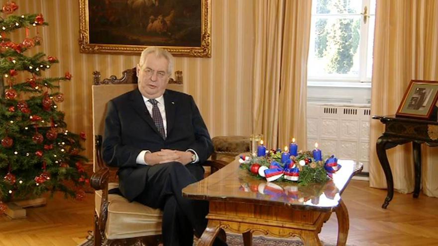 Video Vánoční poselství prezidenta republiky Miloše Zemana 2015