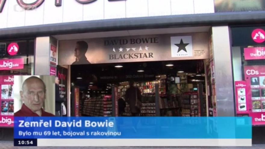 Video Hudební kritik Černý: O Bowieho rakovině se nemluvilo