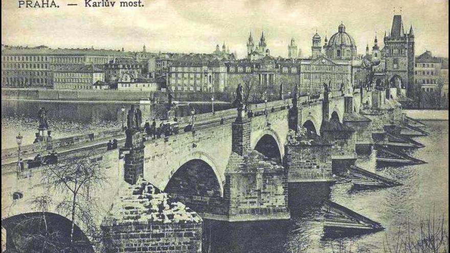 Video Karlův most – symbol Prahy z dílny Petra Parléře