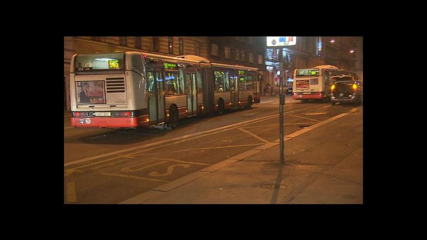 Video Častěji pojede po Praze i šestice nočních autobusů