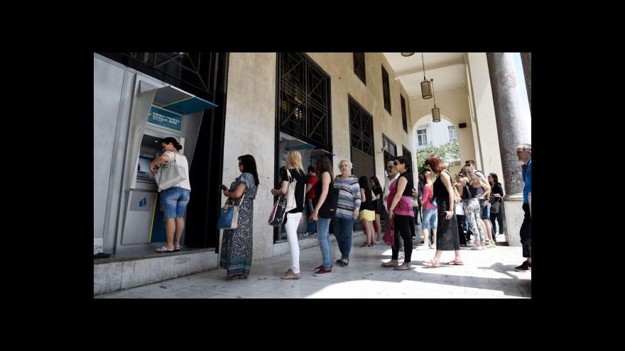 Video Horizont ČT24 k situaci v Řecku