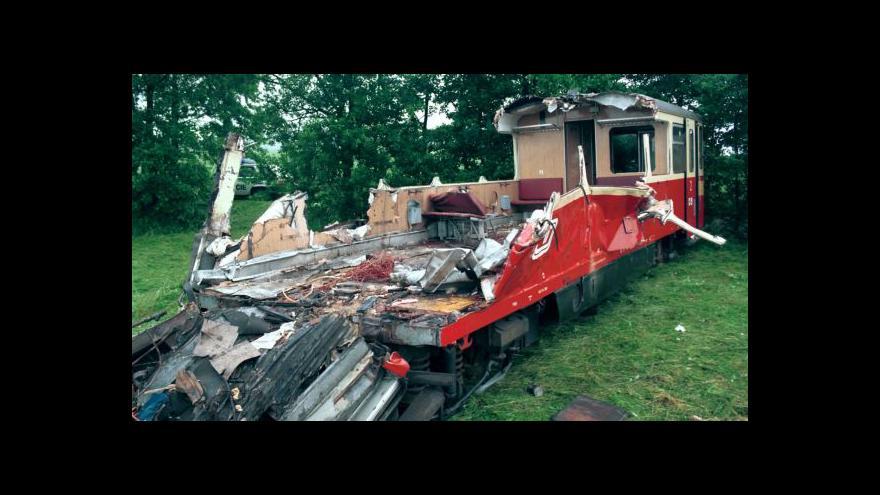 Video Téma Událostí: tuzemská neštěstí na železnici