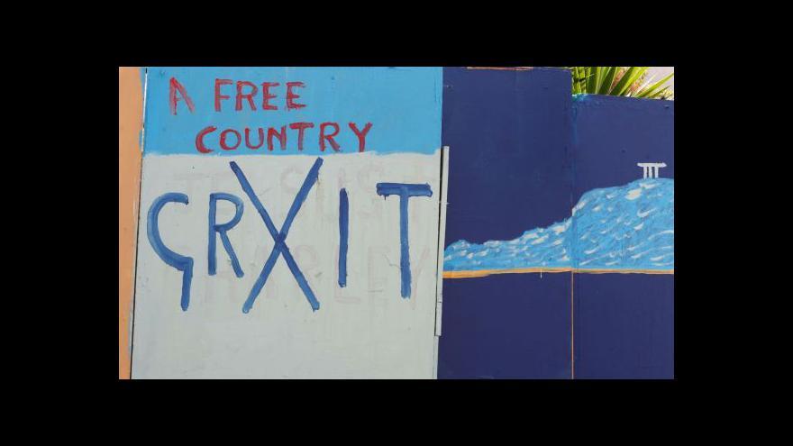 Video Kvůli Řecku klesají evropské burzy – včetně Prahy