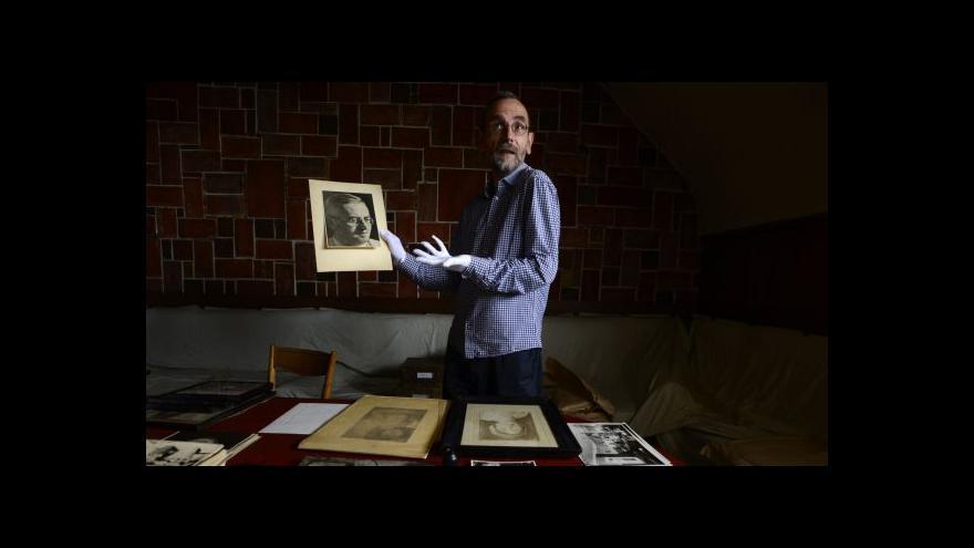 Video Čapkova vila - nalezeny unikátní fotografie