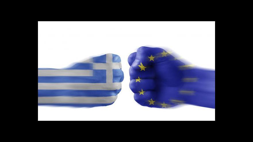 """Video Události: Evropa odpočítává Řecku """"poslední minuty"""""""