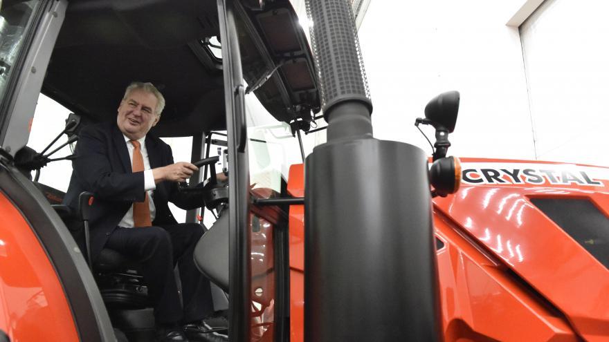 Video Prezident Miloš Zeman na návštěvě Zetoru