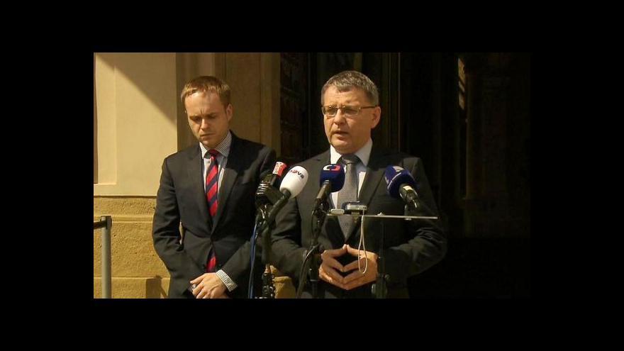 Video Brífink po jednání krizového štábu