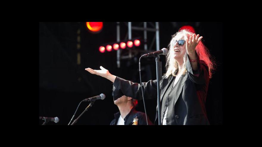 Video Události v kultuře: Patti Smith v Praze