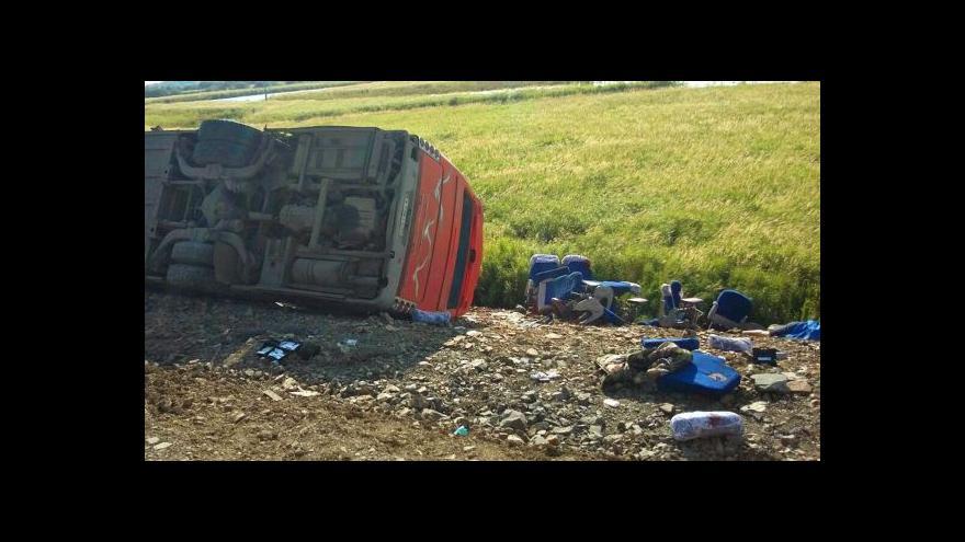 Video Tragická srážka autobusů v Rusku