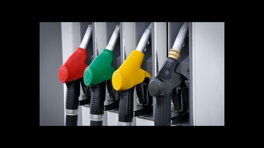 Video Události ČT: Ceny pohonných hmot v ČR i zahraničí