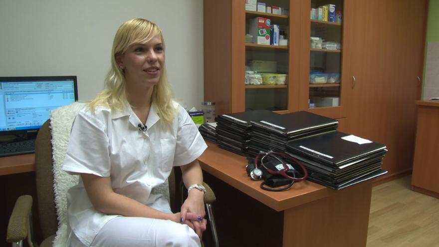 Video Mladá lékařka bude v Holešově ordinovat tři dny v týdnu