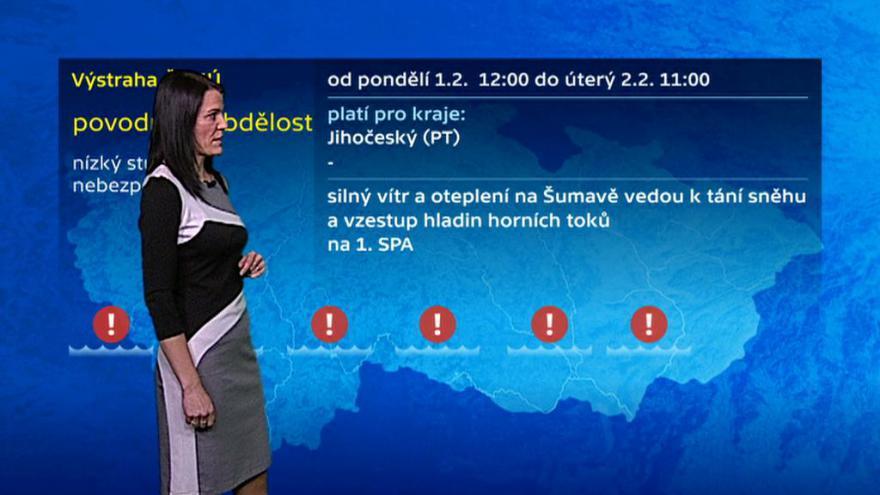 Video Vzestup hladin hrozí hlavně v Sušici
