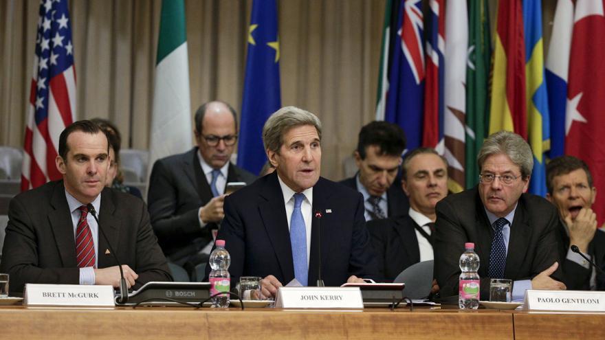 Video Římské jednání o postupu proti Islámskému státu