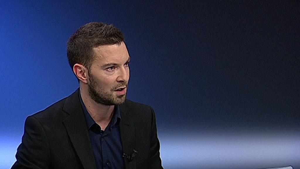 Video Editor sociálních sítí Nových médií ČT Oskar Novák k ohlasům na sobotní útok