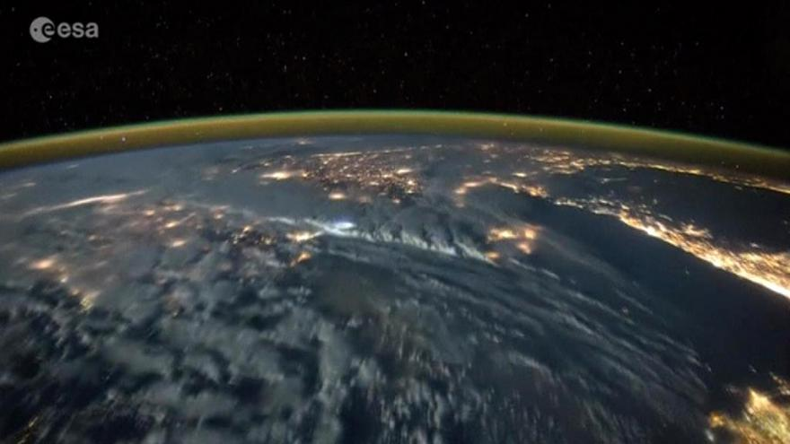 Video Záběry zemské atmosféry z ISS
