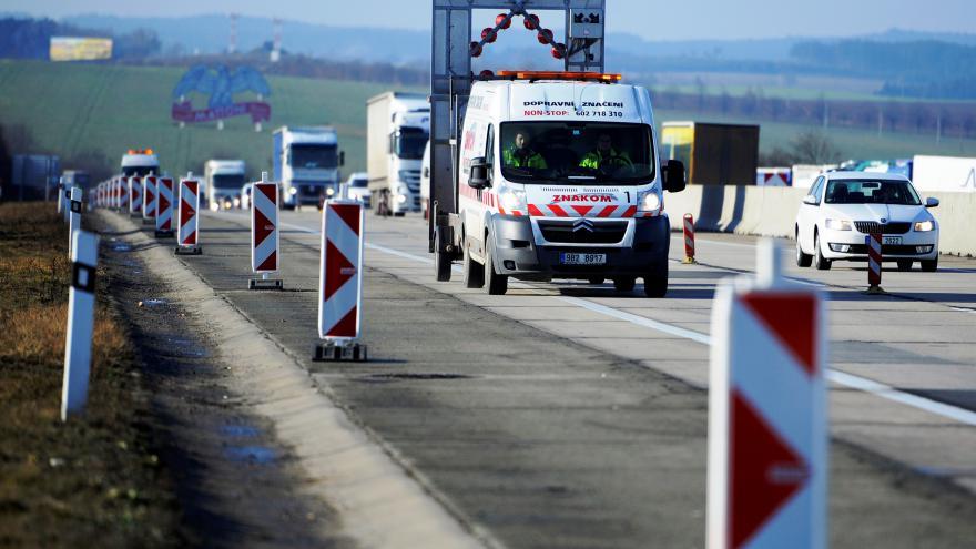 Video Oprava dálnice D1 u Vyškova