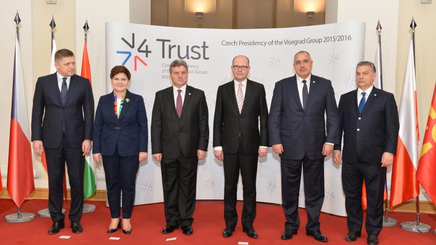 Video V4: Evropská unie by měla podpořit Makedonii a Bulharsko v opatření na hranicích