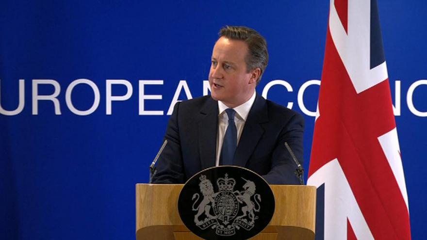 Video Brífink Davida Camerona