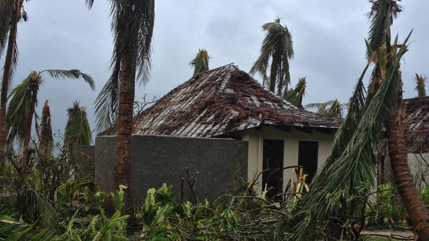 Video Ostrovní stát Fidži zasáhla silná tropická bouře Winston
