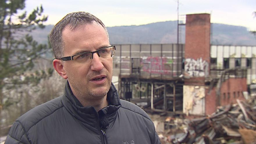 Video Zástupce investora Tomáš Indra popisuje budoucí podobu hotelu