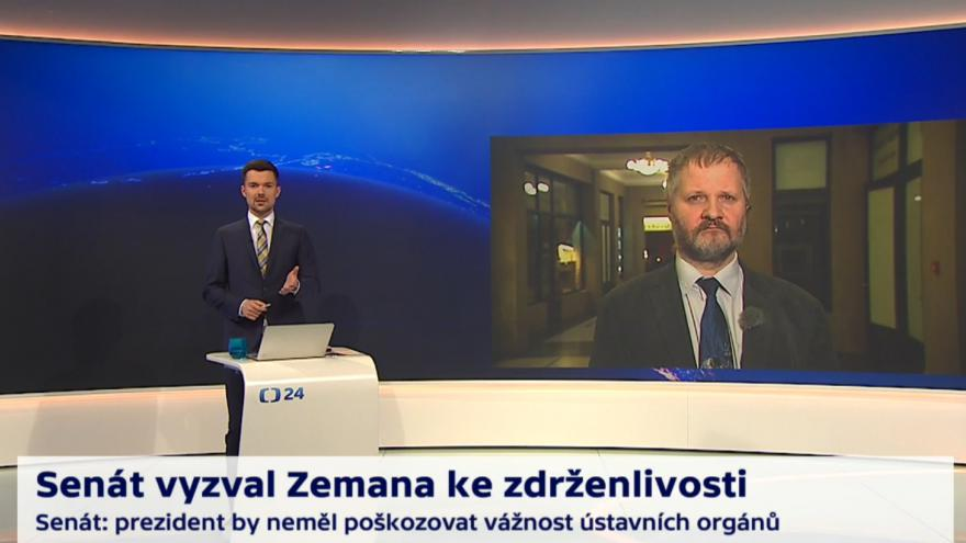 Video 90' ČT24 - Velké cvičení aktivních záloh