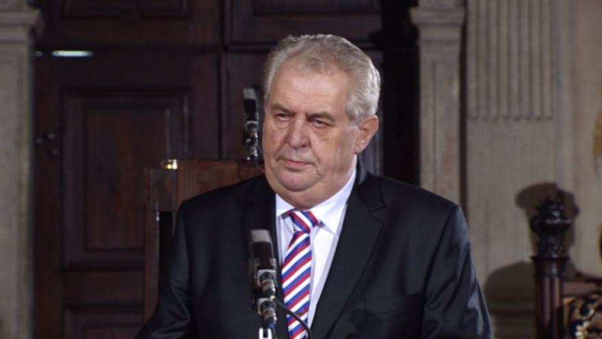 Video Inaugurační projev Miloše Zemana