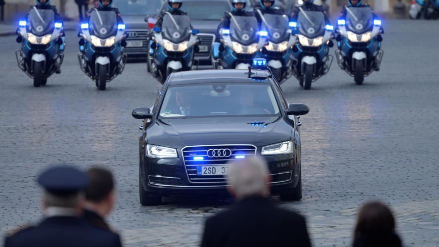 Video Uvítání polského prezidenta Andrzeje Dudy