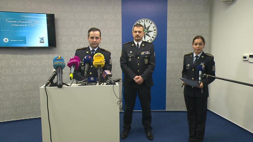 Video Policie o Velikonocích nasadí tři tisíce policistů