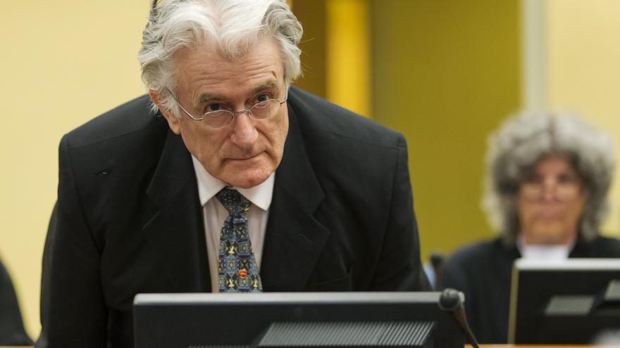 Video Vyhlášení rozsudku nad Radovanem Karadžičem
