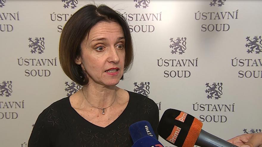 Video Soudy musejí podle soudkyně Kateřiny Šimáčkové rozhodovat případ od případu