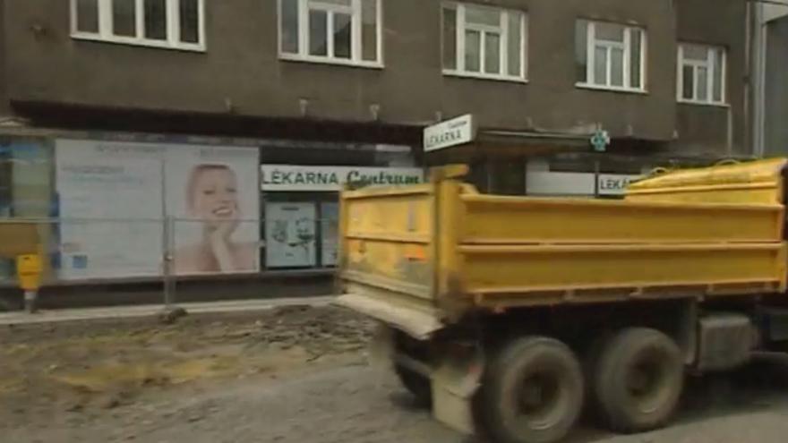 Video Rekonstrukce Nádražní ulice v Ostravě
