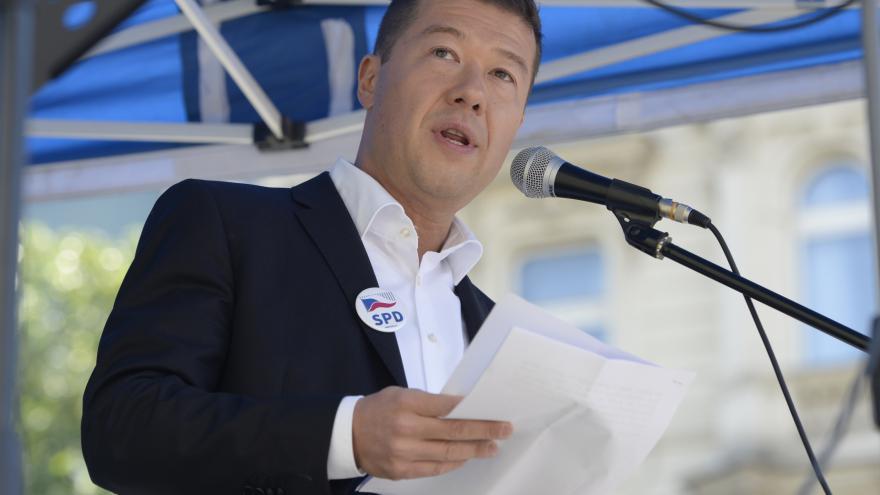Video Předseda hnutí SPD Tomio Okamura k volbám