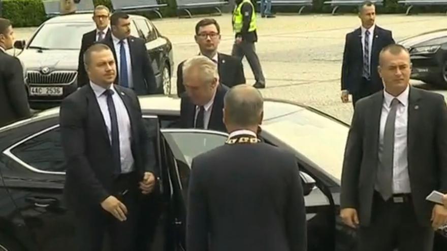Video Miloš Zeman na návštěvě Olomouckého kraje