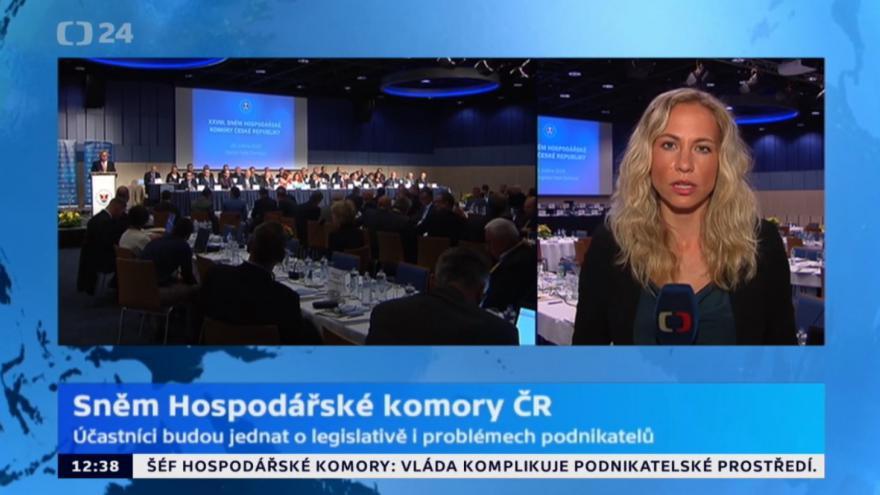 Video Sněm hospodářské komory ČR