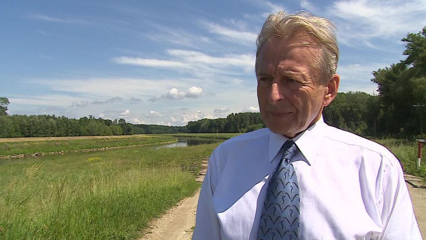 Video Josef Drebitko hovoří o splavnění řeky Moravy