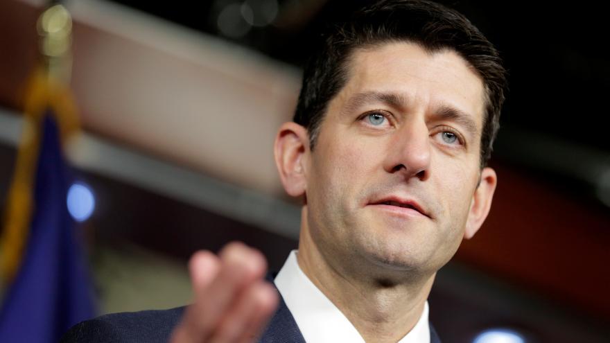 Video Paul Ryan bude v prezidentských volbách hlasovat pro Trumpa