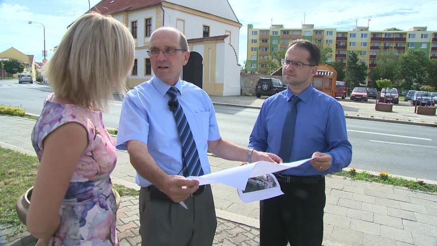 Video Plány na úpravu náměstí popisuje starosta Pohořelic