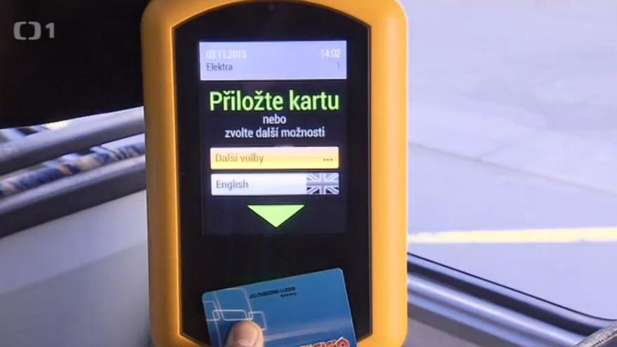 Video V Ostravě se v MHD platí kartou