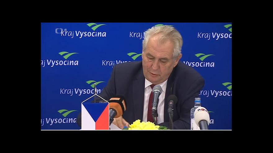 Video Zeman: referendum o vystoupení z EU ano, sám budu proti