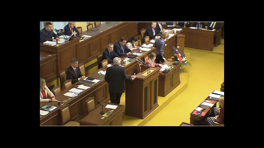 Video Vláda schválila zákon o majetkovém přiznání