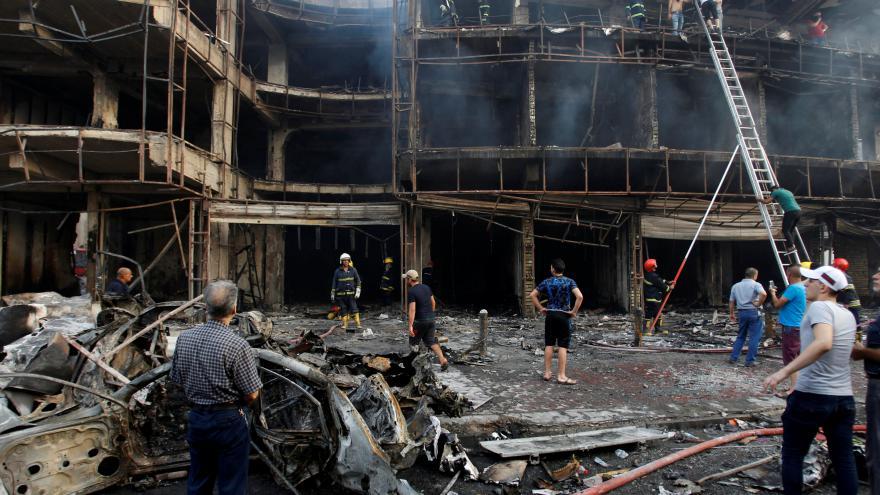 Video Útoky v Bagdádu nepřežilo přes 200 lidí