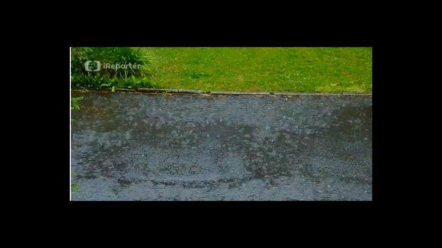 Video iReportér: Ranní bouřka v Halenkově