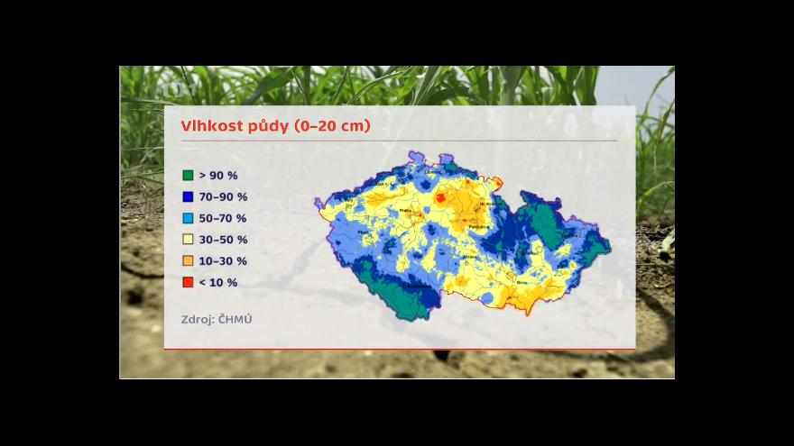 Video Česko i přes bouřky trápí sucho