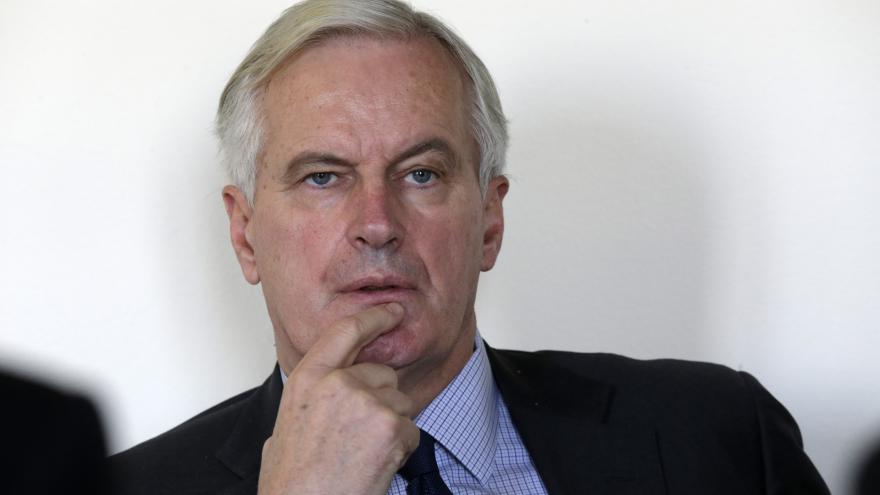 Video Brífink vyjednavače EK pro brexit Michela Barniera