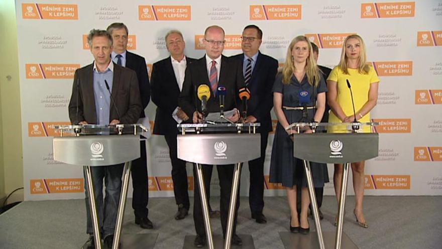 Video ČSSD chce v rozpočtu prosazovat hlavně peníze na bezpečnost