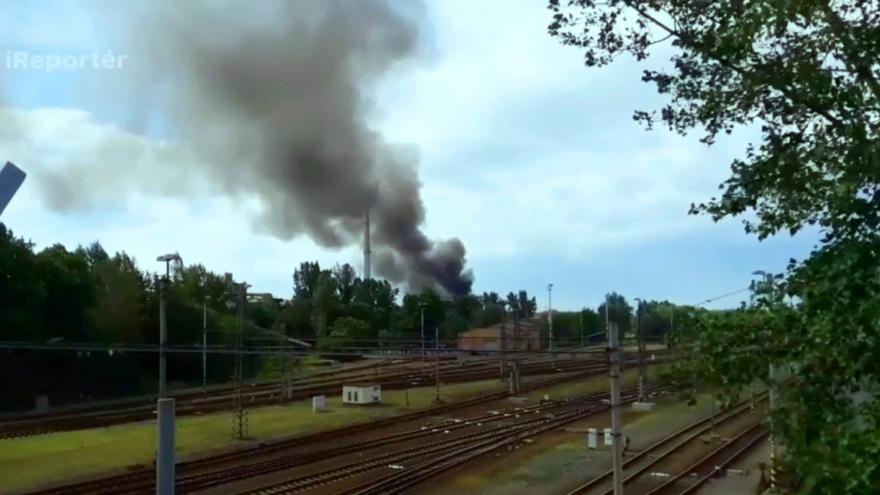 Video Požár Drátoven v Bohumíně