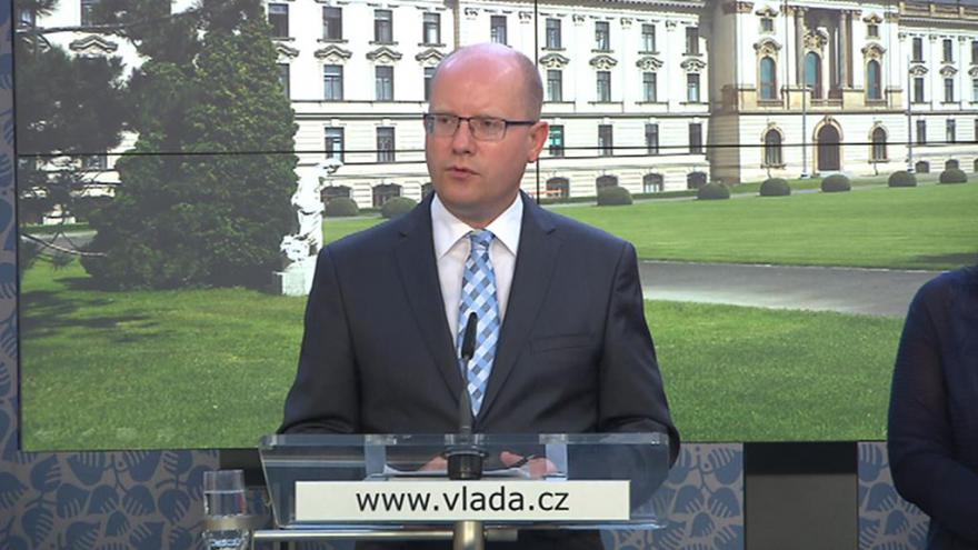 Video Tisková konference po jednání vlády